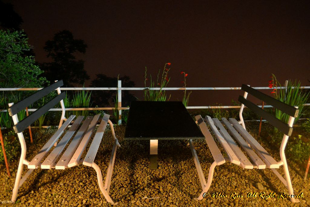 Benches at Padmini Niwas Mussoorie