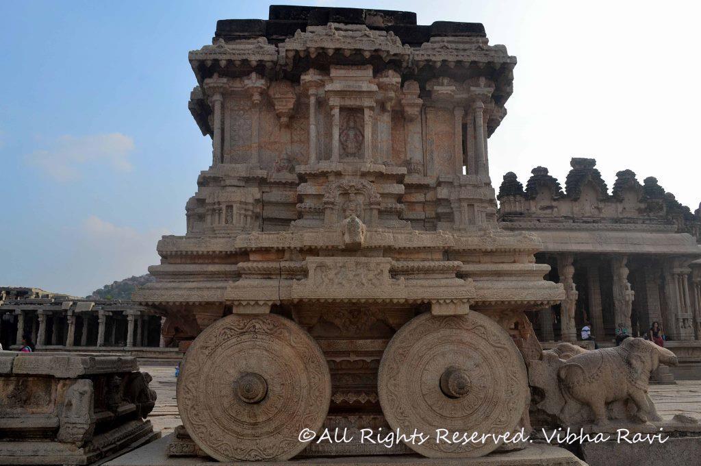 Stone Chariot at Vitthala temple