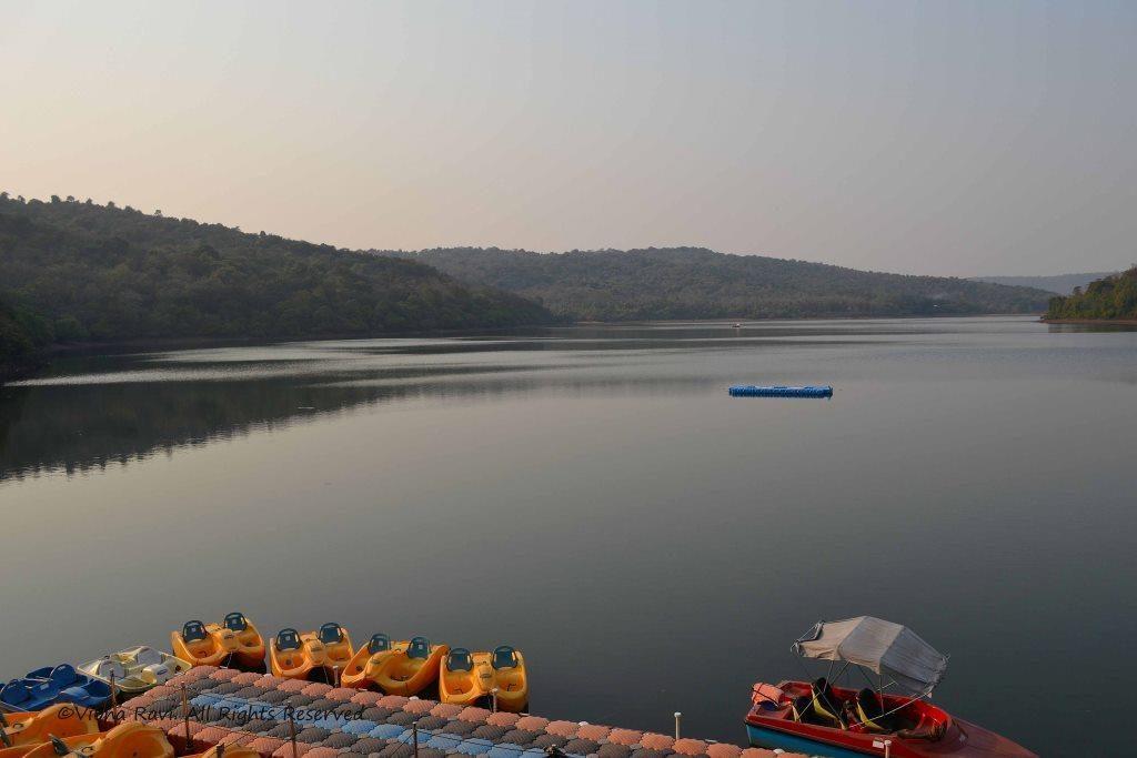 Boats at the Dhamapur lake