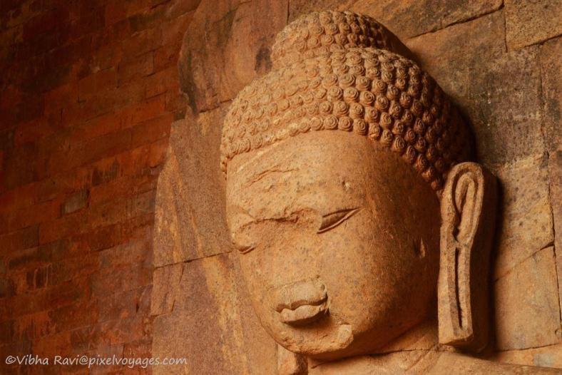 Buddha Statue at Ratnagiri in Orissa