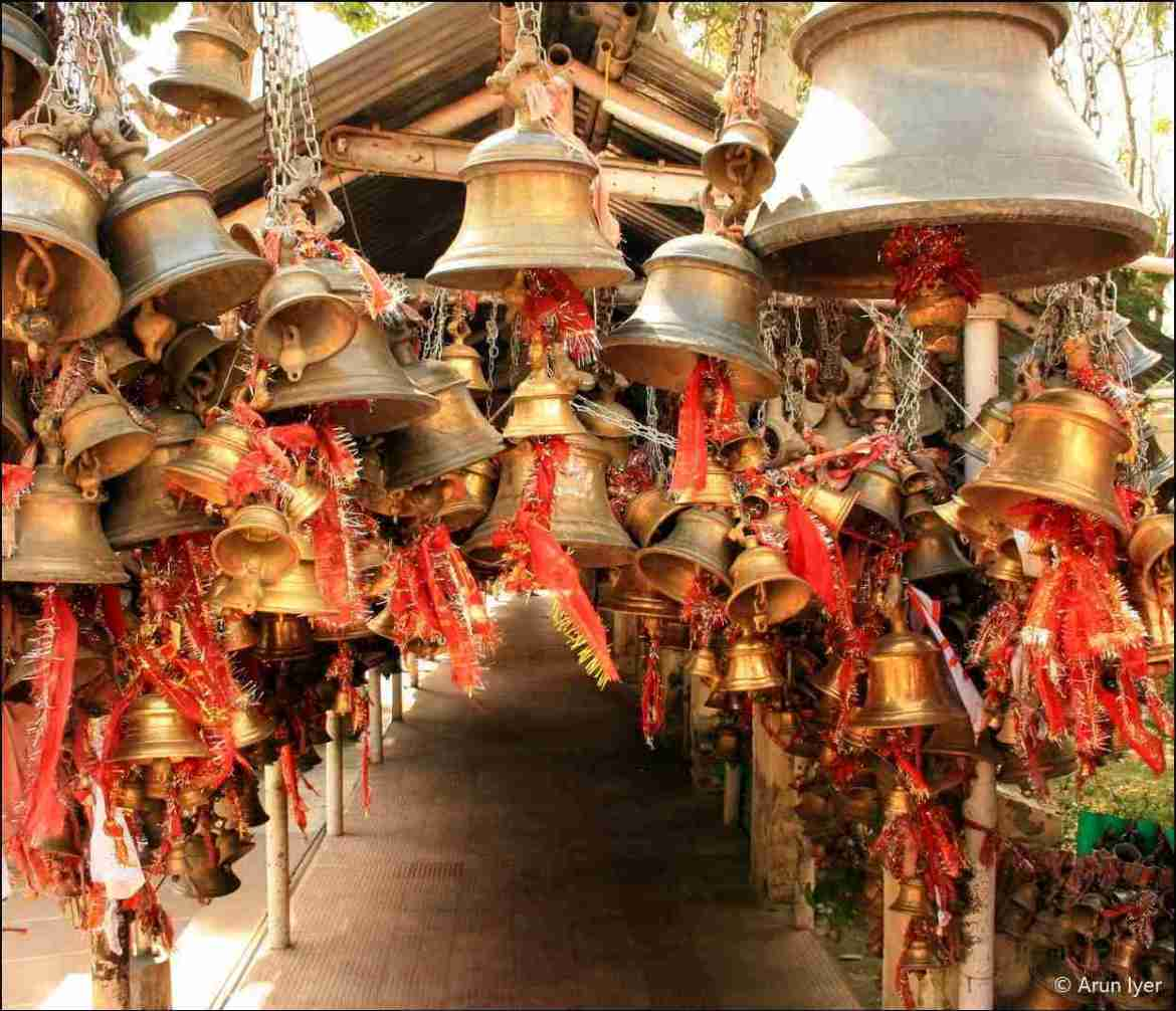 Bells at Chitali Golu Devta Temple