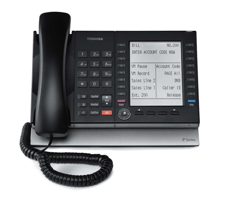 Toshiba Phone System IP5131 Installation by ICS Integrated Communication Solutions NY Deer Park NY
