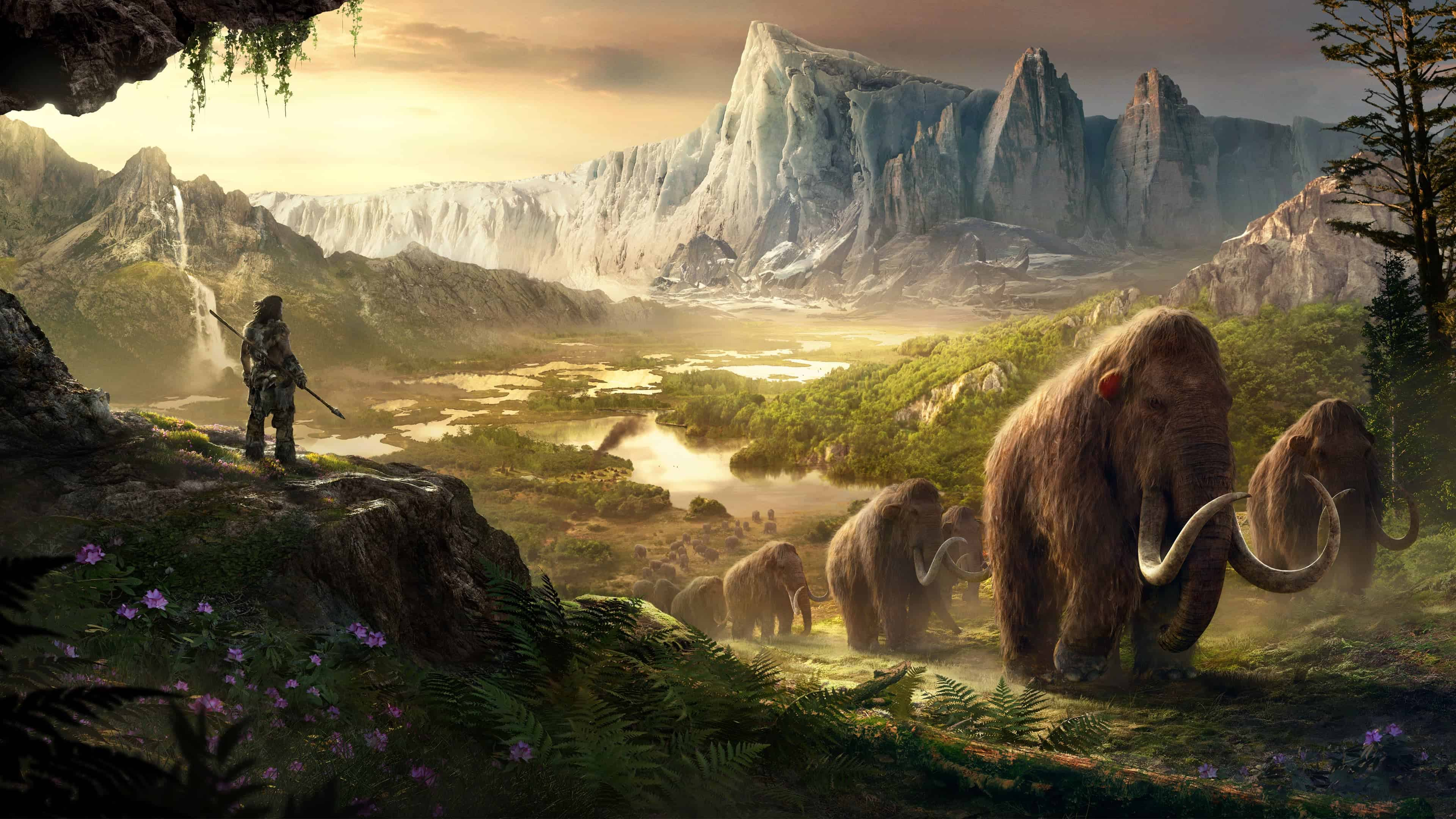 Far Cry Primal Mammoths UHD 4K Wallpaper   Pixelz far cry primal mammoths uhd 4k wallpaper