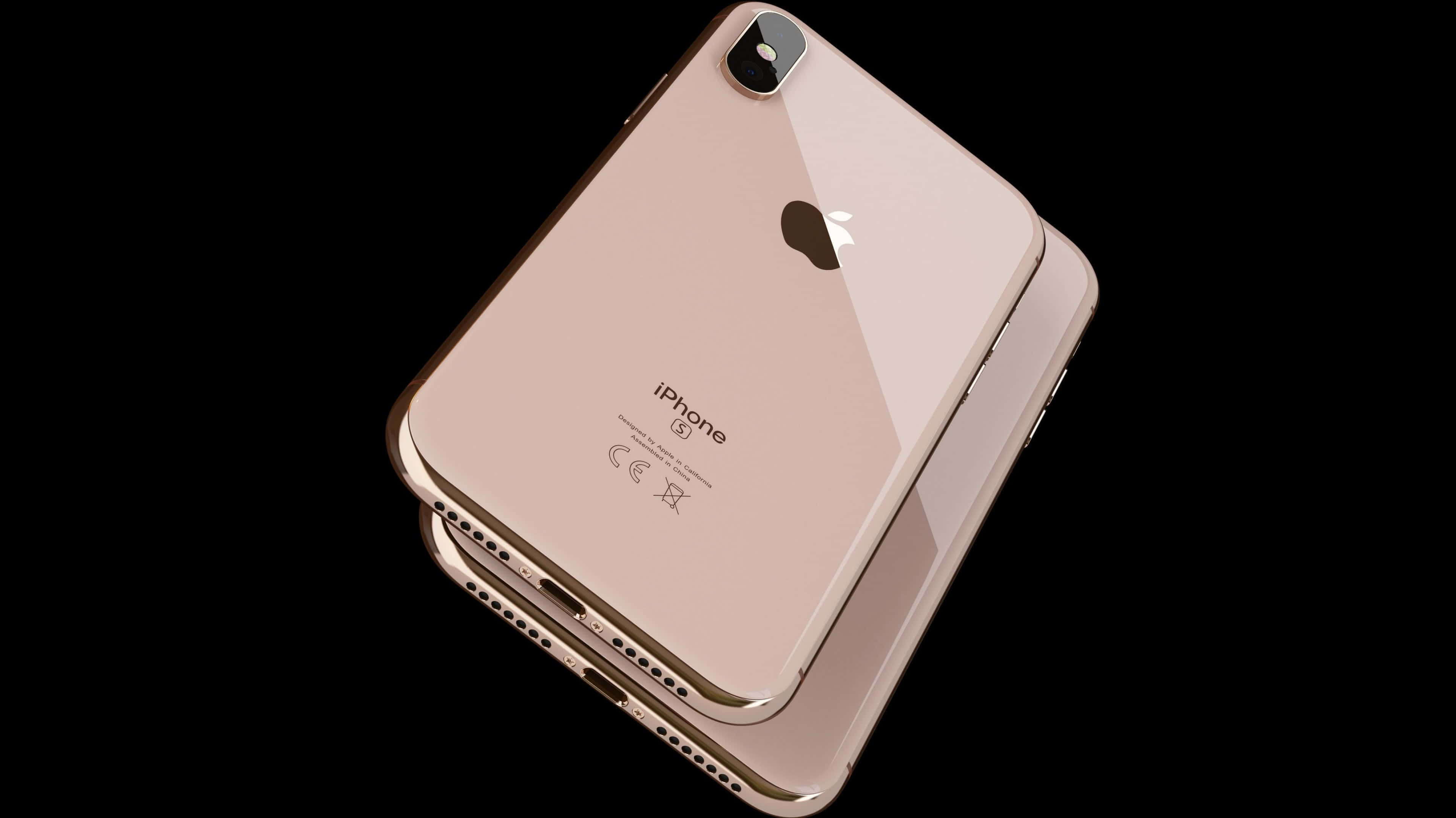 Apple Iphone Xs Max Gold Uhd 4k Wallpaper Pixelz Cc