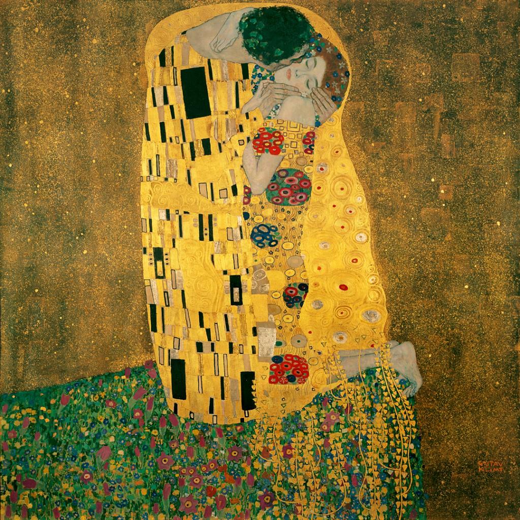 Gustav Klimt, Pocałunek - blog PIXERS