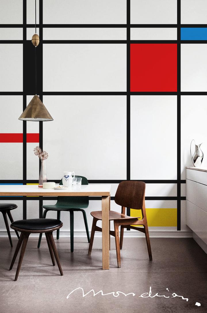 Piet Mondrian - Fototapeta PIXERS