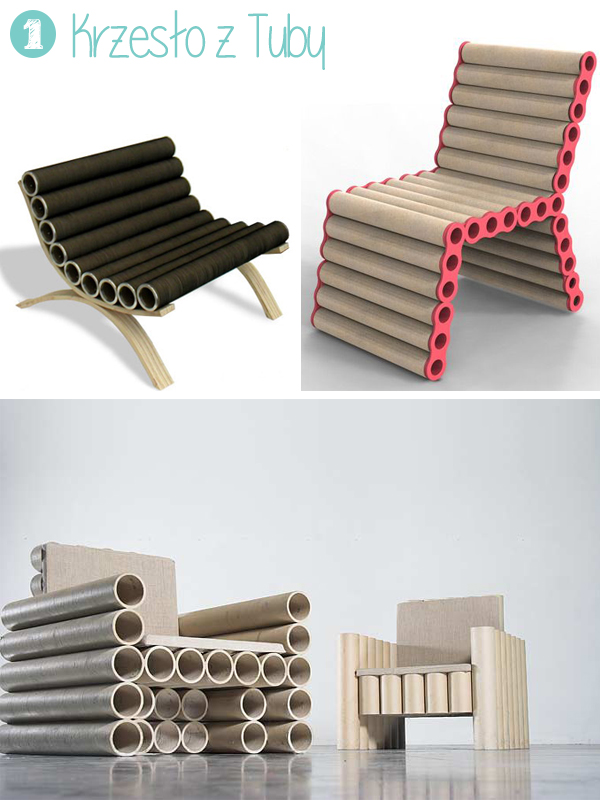 Krzesło z Tuby - PIXERS blog