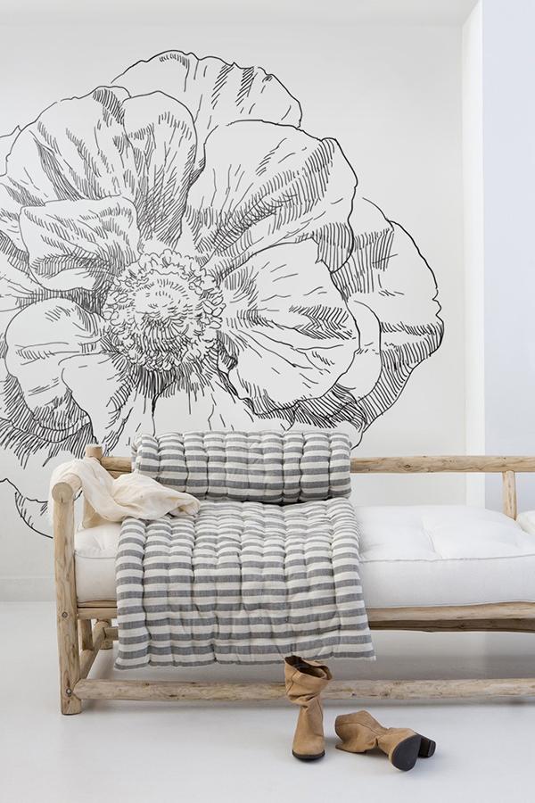 Kwitnący Kwiat Naklejka - PIXERS