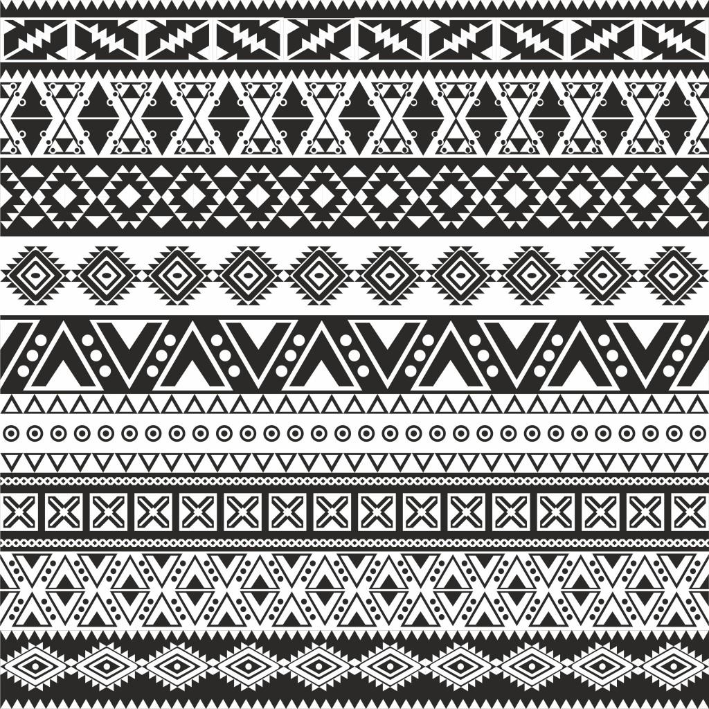 Aztecki Wzór - PIXERS