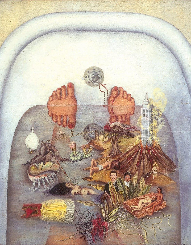Frida Kahlo, Co zobaczyłam w wodzie, 1938