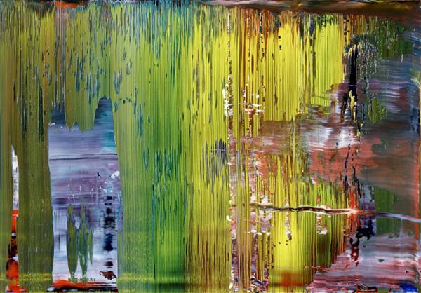 Gerhard Richter- Abstraktes Bild - 2001