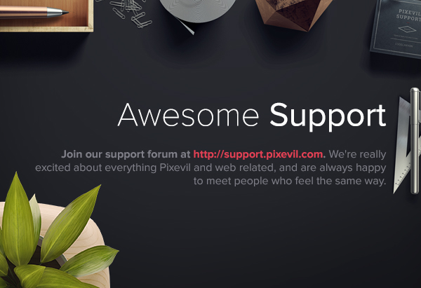 Slidea - Support
