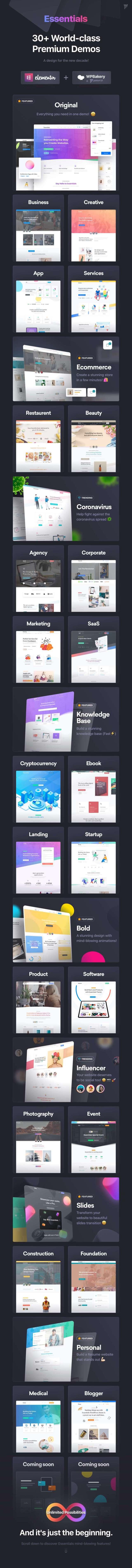 Essentials | Multipurpose WordPress Theme - 21