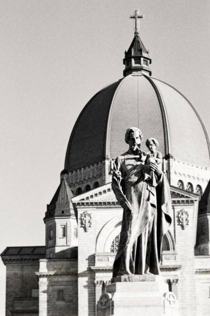 Montreal' St-Joseph Oratory view
