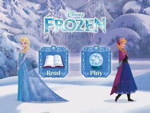 Disney Frozen App for iPad