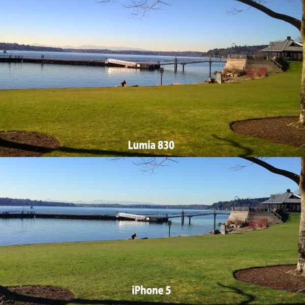 Lumia 830 vs iPhone 5 Camera