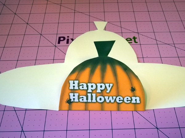 Free Halloween Pumpkin Treat Box Template