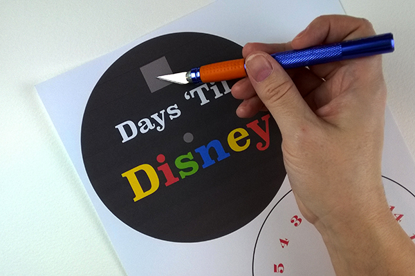 Days Until Disney Countdown Calendar
