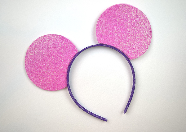 DIY Mickey Party Headbands