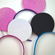 Easy DIY Mickey Ears – Perfect for a Mickey Mouse Clubhouse Birthday Party!