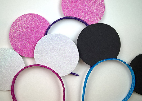 Easy Cheap DIY Mickey Headbands