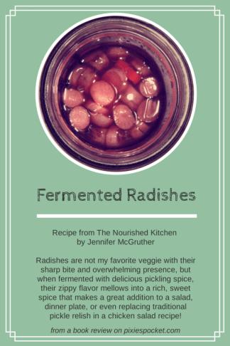 Fermented Radishes