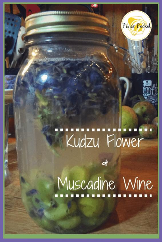 Kudzu Flower&Muscadine Wine