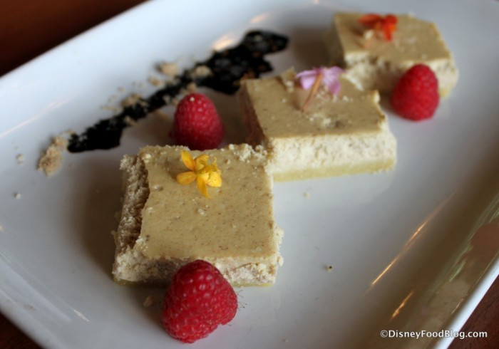 Jasmine Tea-Infused Cheesecake