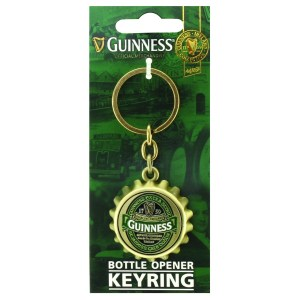 Guinness Ireland Bottle Cap Keyring