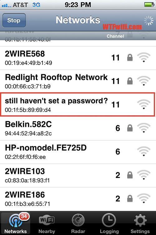 Funny Wifi Names Fun