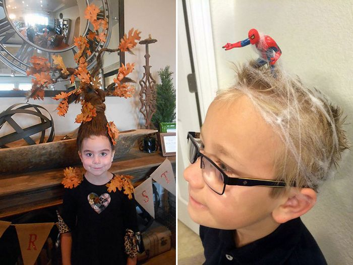 The Best Hairdos From Crazy Hair Day At Schools Others