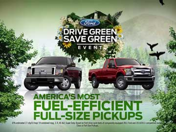 Advertising & 3D – Ford – Drive Green Save Green F150