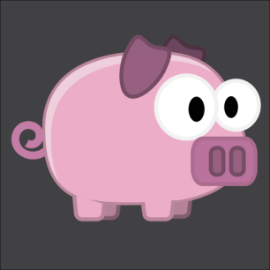 Pig game character