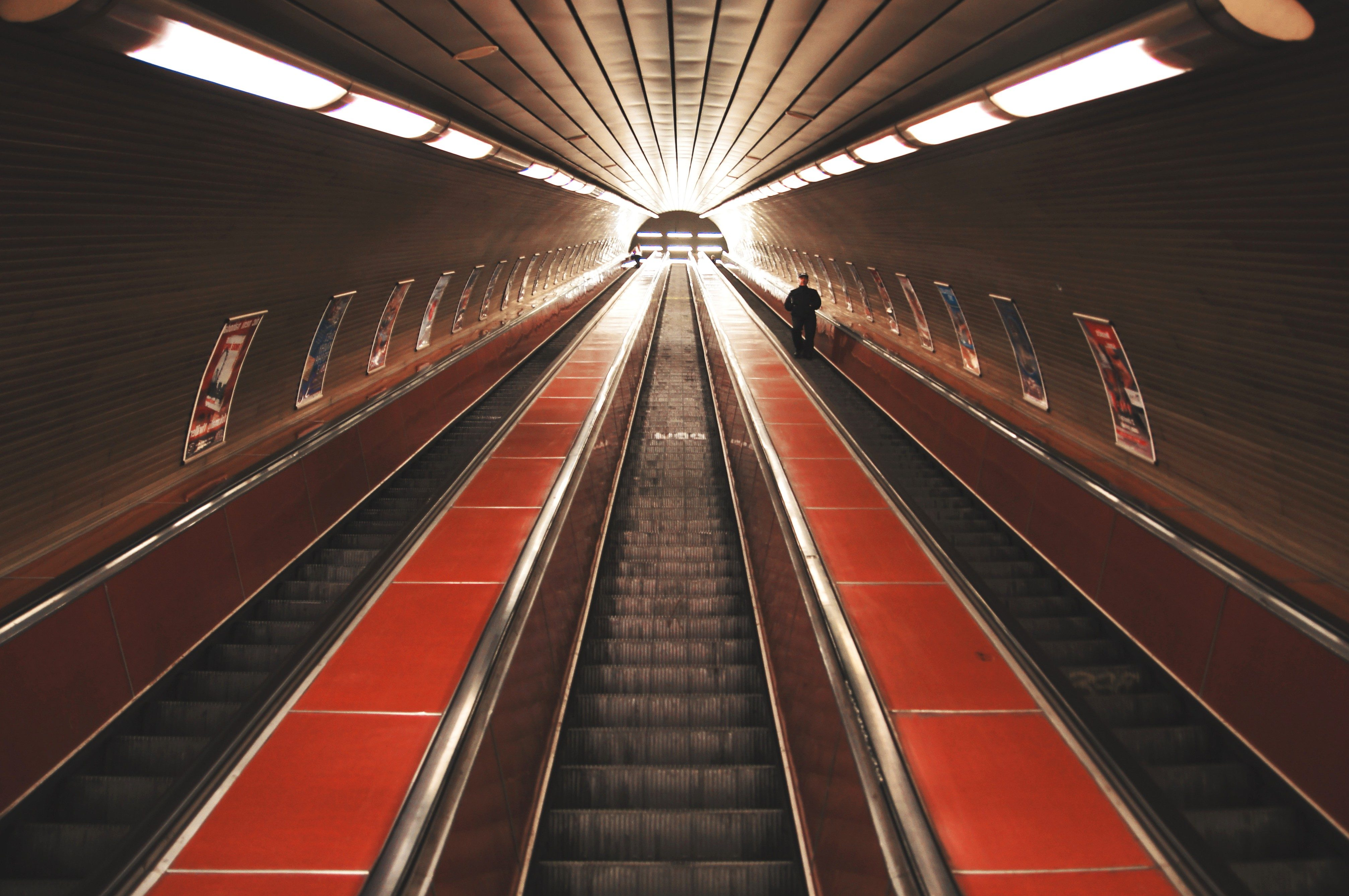 Free Picture Metro Station Interior Subway Station