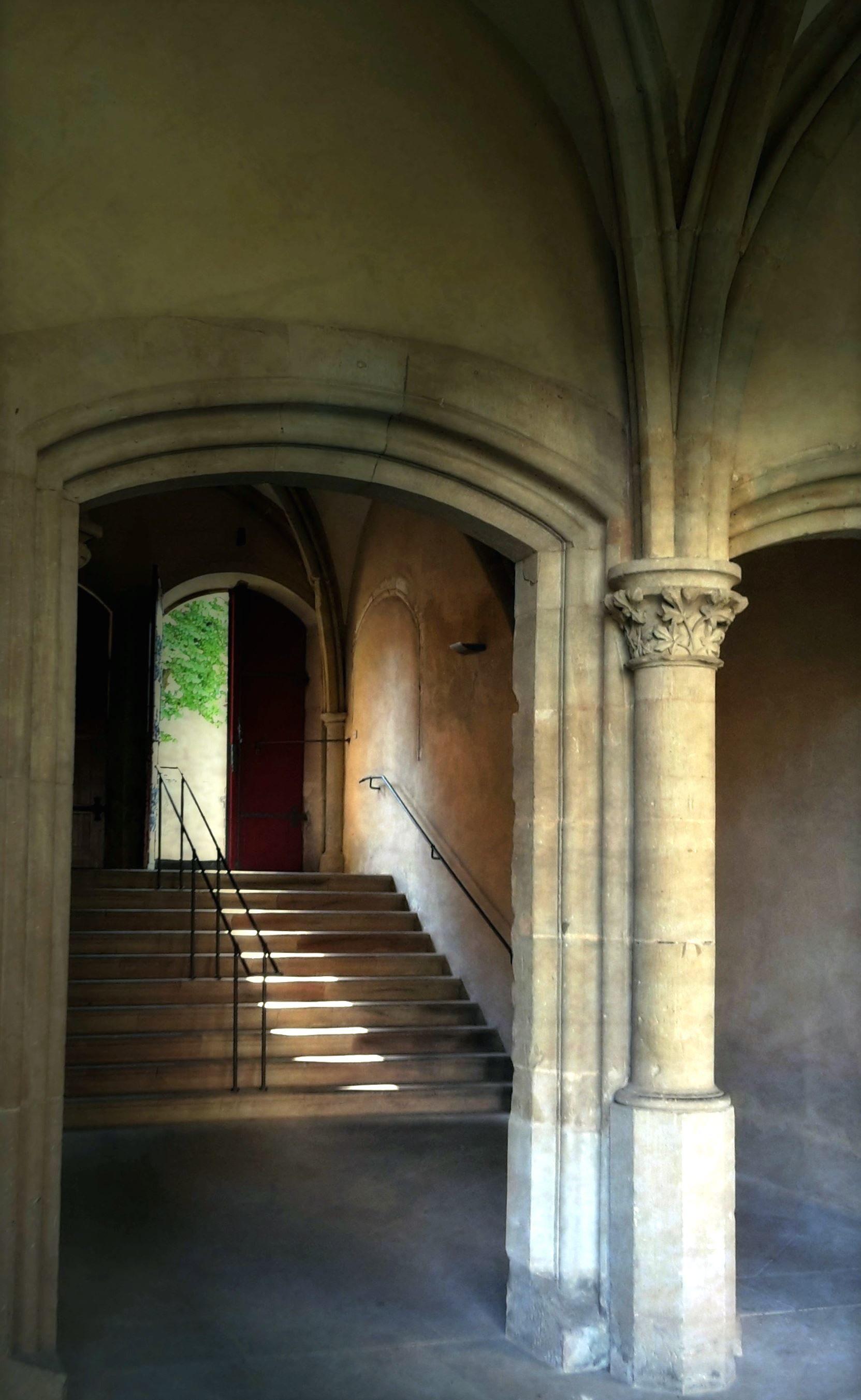 Free Picture Pillar Railings Stairs Stone Door Walls