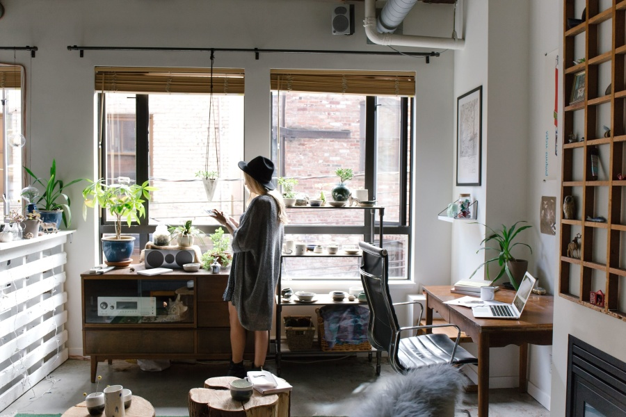 Free Picture Windows Woman Apartment Female House