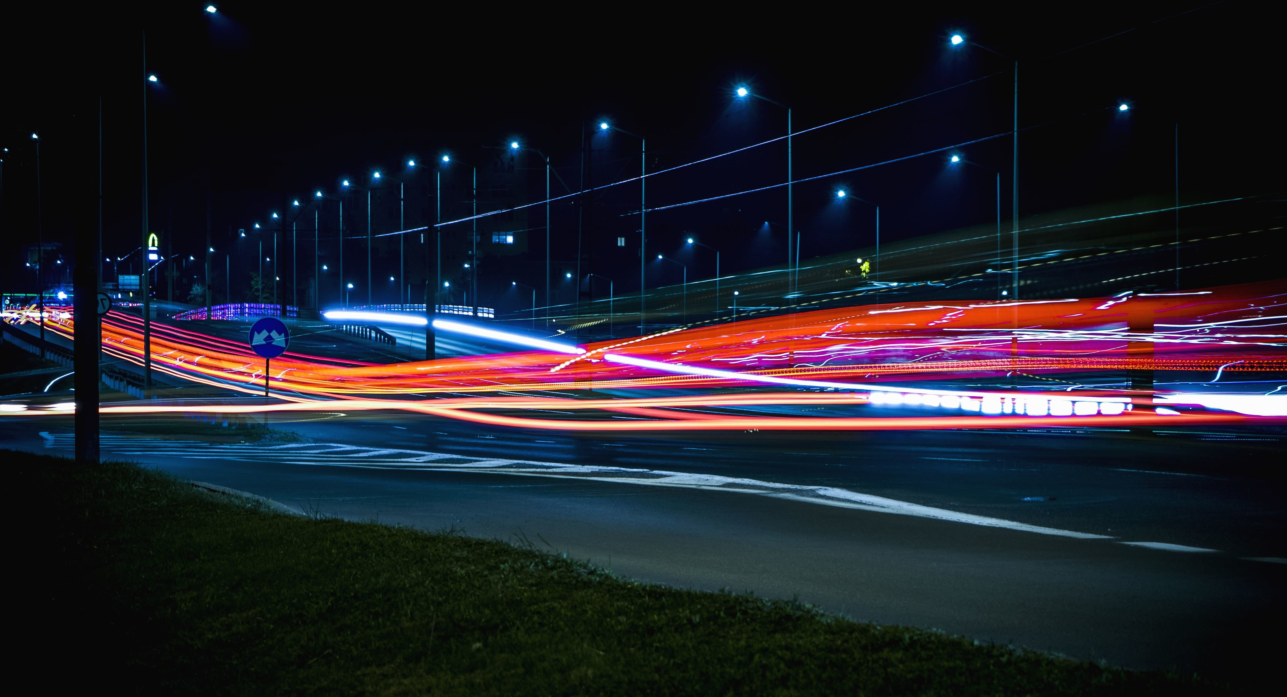 Free Picture Architecture Bridge Evening Highway
