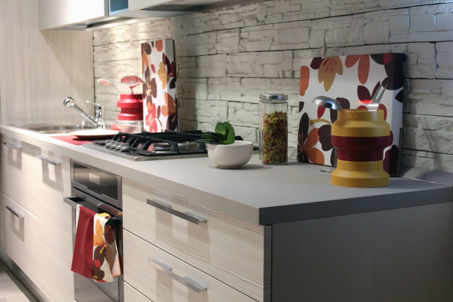 Free Picture Cloth Oven Stove Spice Kitchen Wall