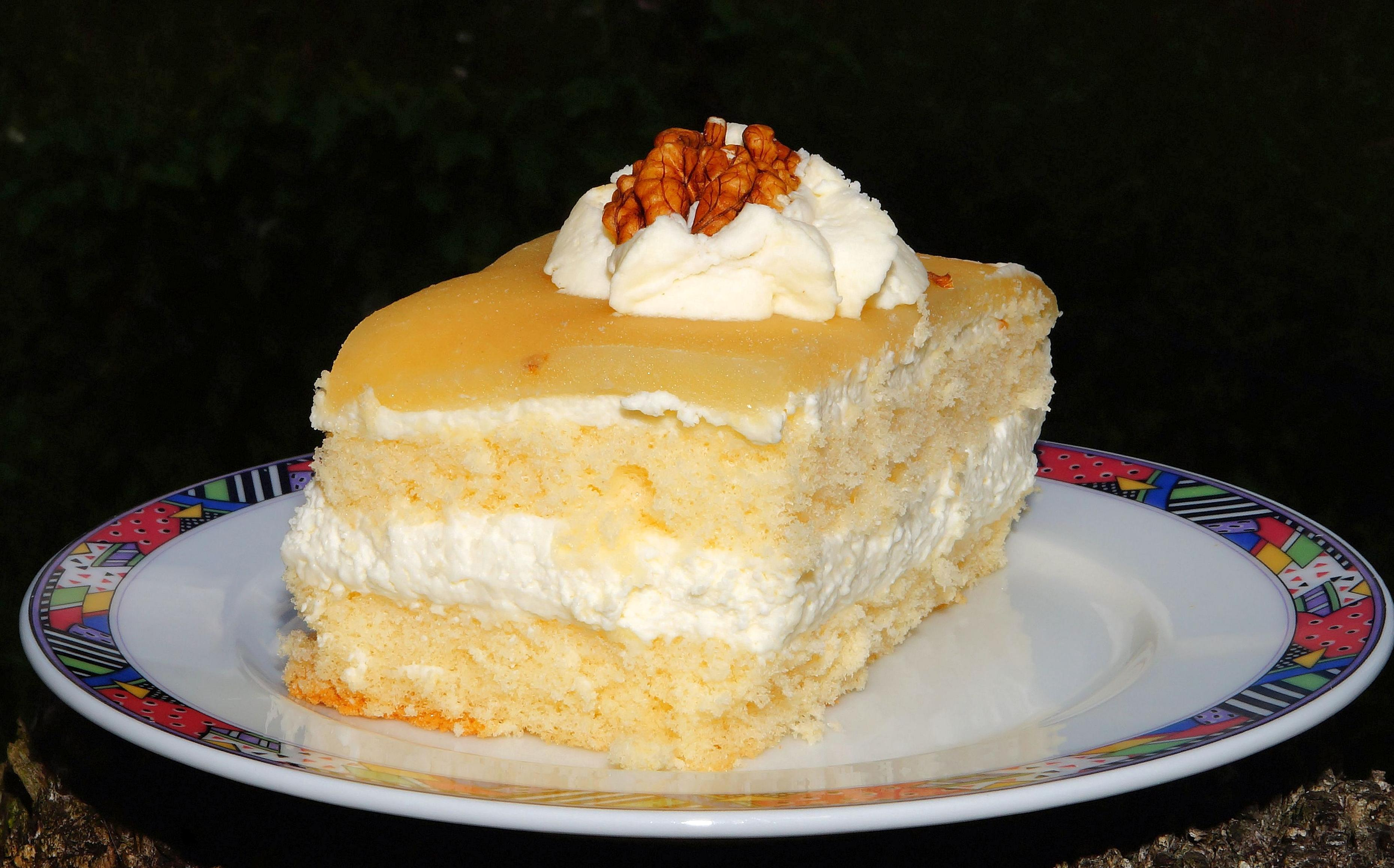 Free Picture Sweet Cake Food Cream Delicious Sugar