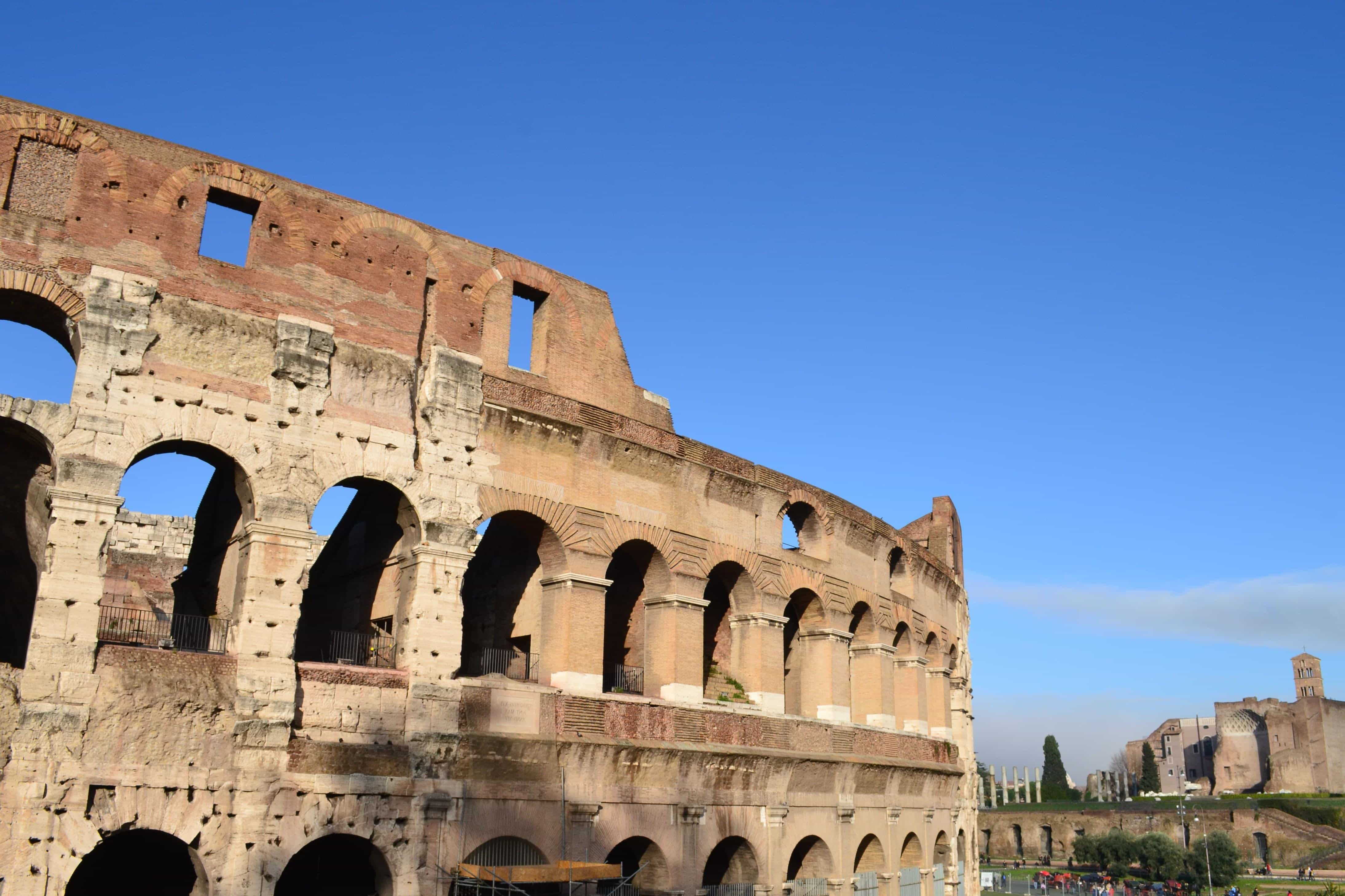 Free Picture Colosseum Ancient Rome Italy Me Val
