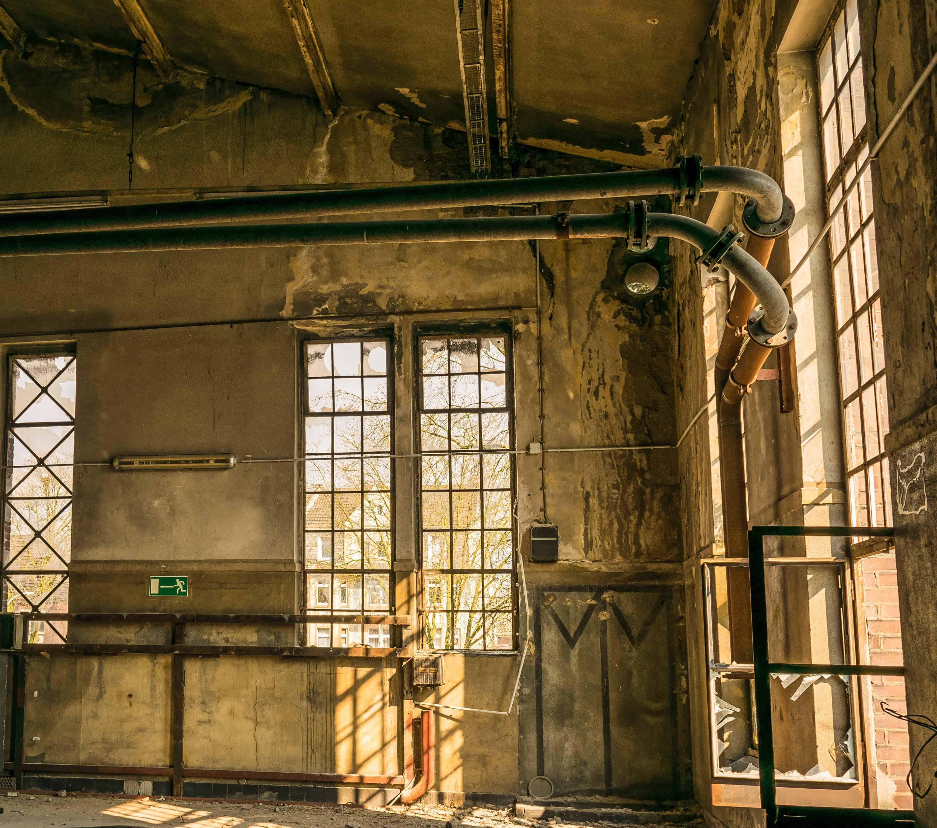 Free Picture Indoor Window Architecture Old Door Wall