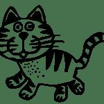 Kostenlose Bild Transparent Kunst Katze Tier Schwarz Weiss Zeichnung Grafik