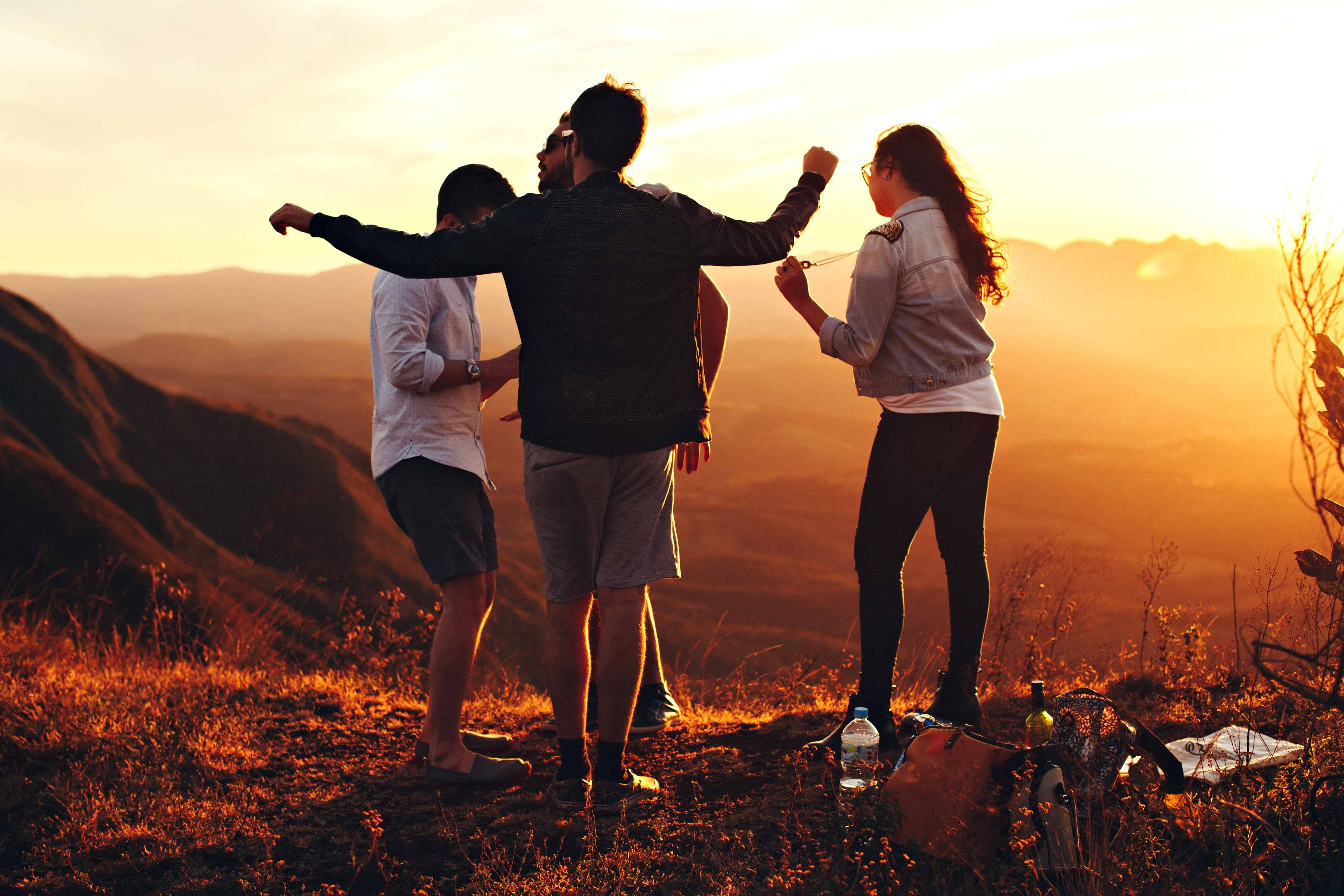 Free Picture Sunset People Sky Silhouette Outdoor