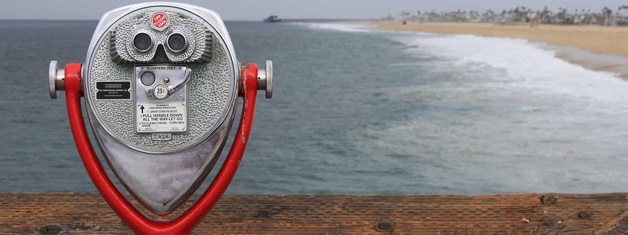 Coin-operated binoculars at the ocean - 20 Easy to Use WordPress SEO Tips, Tricks, and Resources