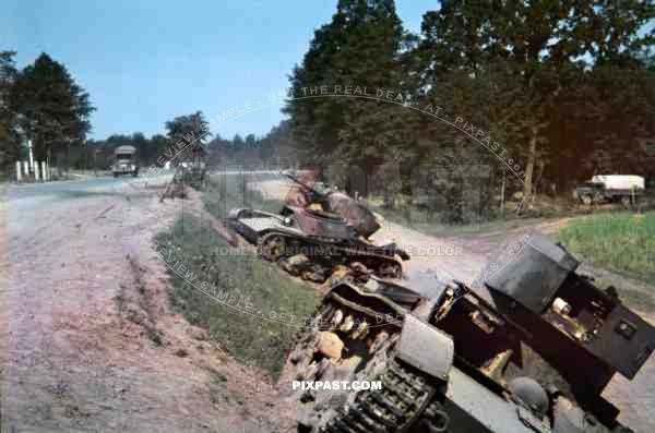 Rare Glass Colour Slides From War Time Russia Taken By