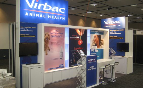 <em>custom stands for Sydney</em> Pixxo-Hybid-Stand Virbac Animal Health
