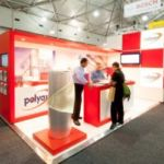 Red Exhibition Stand