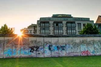 Blick über die Mauer
