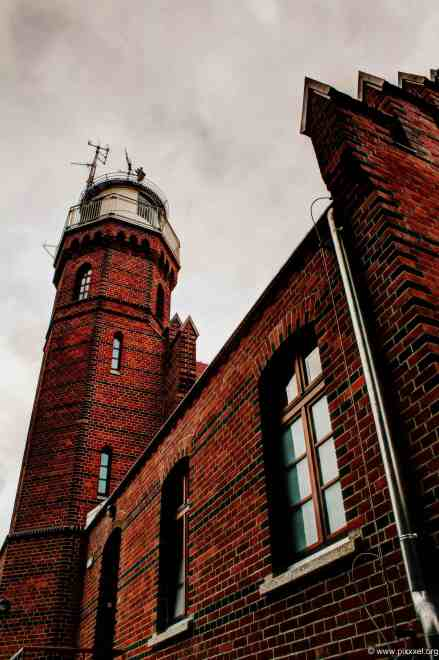 der Leuchtturm von Ustka