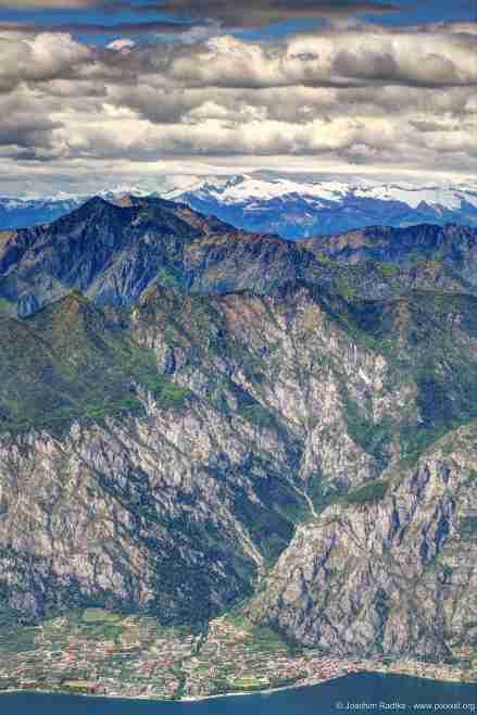 Blick vom Monte Baldo, Italien (1)